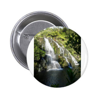 New Zealand by Nature 2 Inch Round Button