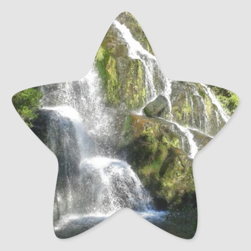 New Zealand by Nature Star Stickers