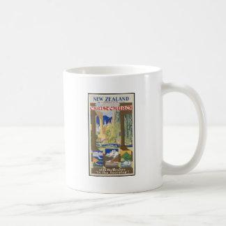 New Zealand Christchurch Classic White Coffee Mug