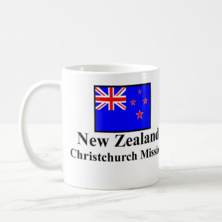 New Zealand Christchurch Mission Drinkware Coffee Mug