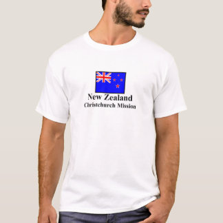 New Zealand Christchurch Mission T-Shirt