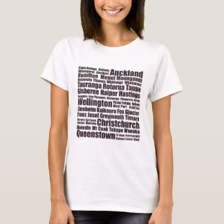 New Zealand Cities T-Shirt