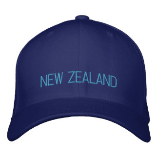 New Zealand Embroidered Hat
