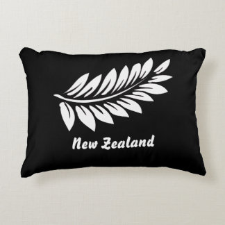 New Zealand fern leaf Accent Pillow