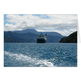 New Zealand Ferry Everyday Greeting Card