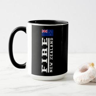 New Zealand Fire fighter mug