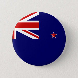 New Zealand Flag 2 Inch Round Button