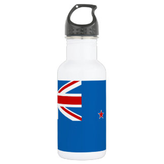New Zealand flag 532 Ml Water Bottle
