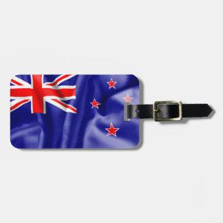 New Zealand Flag Bag Tag