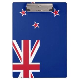 New Zealand Flag Clipboard
