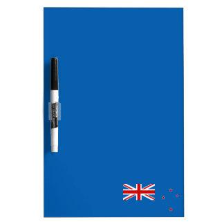 New Zealand flag Dry Erase Board