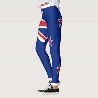 New Zealand Flag full Leggings