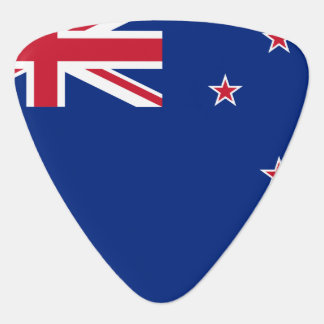 New Zealand Flag Guitar Pick