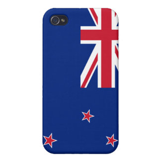 New Zealand Flag iPhone Cases For iPhone 4