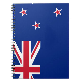 New Zealand Flag Notebook