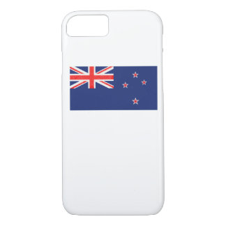 New Zealand Flag Oil Painting iPhone 7 Case