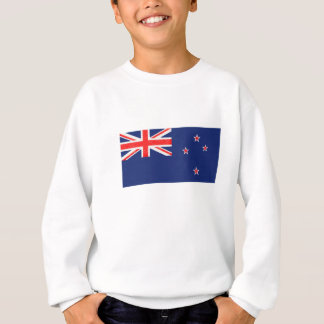 New Zealand Flag Oil Painting Sweatshirt