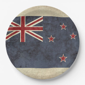 New Zealand Flag Paper Plates