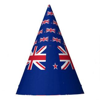 New Zealand Flag Party Hat