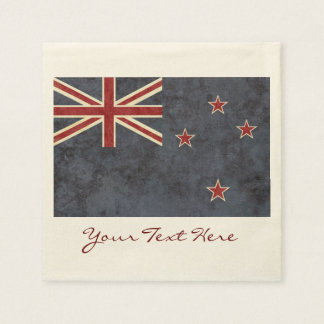 New Zealand Flag Party Napkins Disposable Napkins