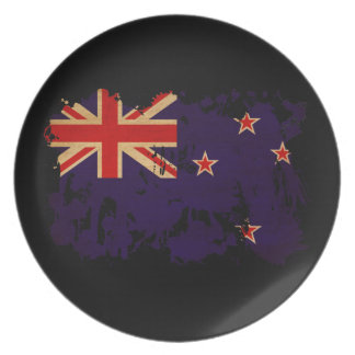 New Zealand Flag Party Plates