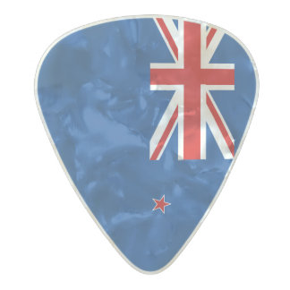 New Zealand flag Pearl Celluloid Guitar Pick
