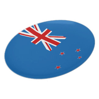 New Zealand flag Plate