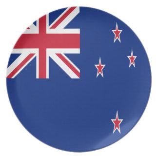 New Zealand Flag Plates
