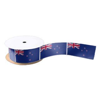 New Zealand Flag Satin Ribbon