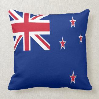 New Zealand Flag Throw Pillow