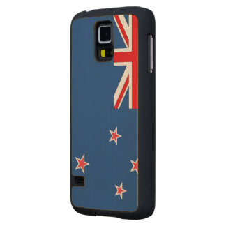 New Zealand Flag Maple Galaxy S5 Case