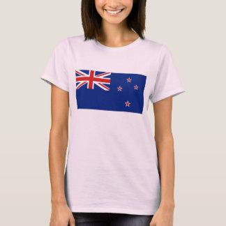 New Zealand Flag x Map T-Shirt