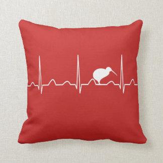 NEW ZEALAND HEARTBEAT THROW PILLOW