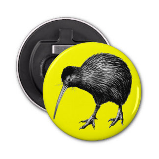 New Zealand Kiwi Bottle Opener