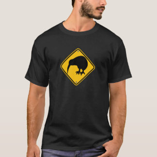 New Zealand Kiwi Crossing T-Shirt