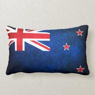 New Zealand; Kiwi Flag Lumbar Pillow