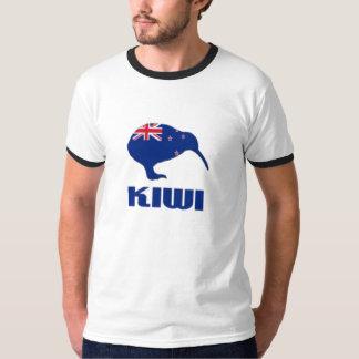 New Zealand Kiwi Mens Ringer Shirt