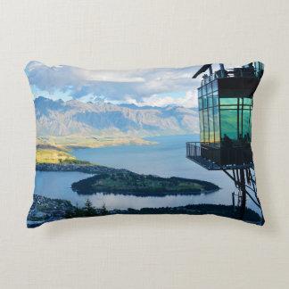 New Zealand landscape Accent Pillow