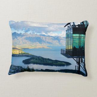 New Zealand landscape Decorative Pillow