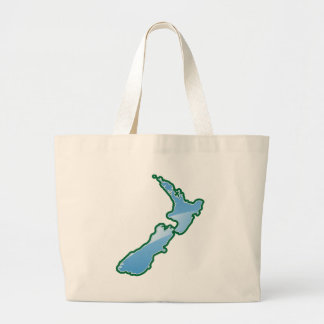 New Zealand MAP Large Tote Bag