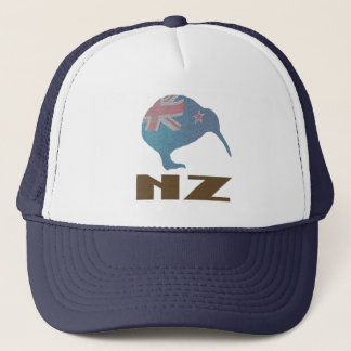New Zealand Modern Kiwi Trucker Hat