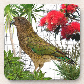 New Zealand Native Bird Coaster Set