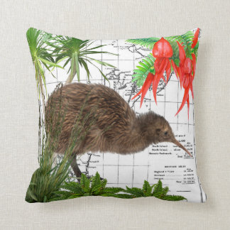 New Zealand Native Kiwi Pillow