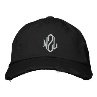 New Zealand NZL  Embroidered Hat