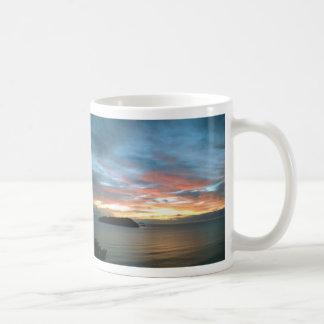 New Zealand Ocean Sunrise Mugs