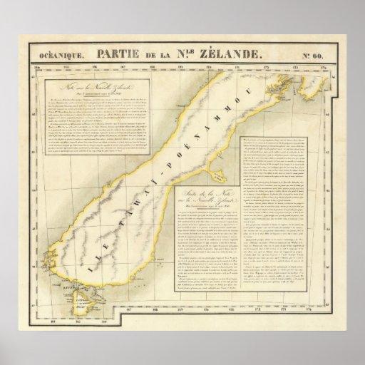 New Zealand Oceania no 60 Print