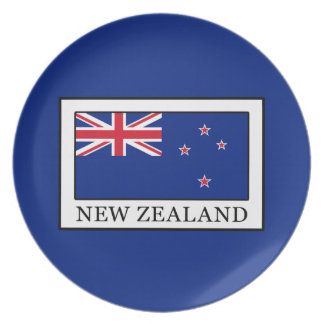 New Zealand Party Plate