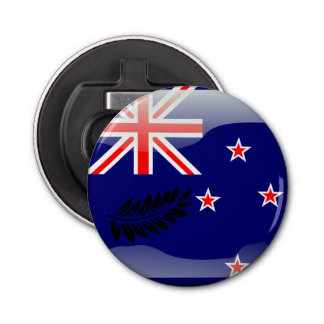 New Zealand polished flag Bottle Opener
