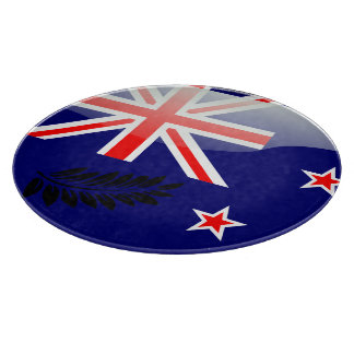 New Zealand polished flag Cutting Board