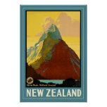 New Zealand Poster